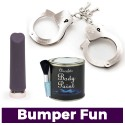 Vibrator + Body Paint + Handcuffs