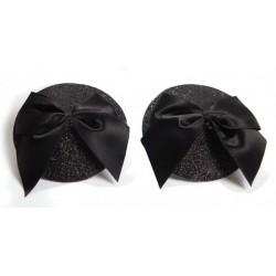 Burlesque Nipple Pasties - Bow from Bijoux Indiscrets