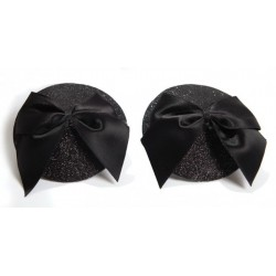 Burlesque Nipple Pasties - Bow from Bijoux Indiscrets