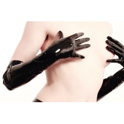 Fantasy Elbow Length Latex Gloves