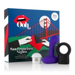 San Francisco Nights Vibrating Multi Pleasure Kit for Him - Je Joue Ooh