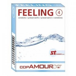 Cop Amour Feeling Condoms - 4pcs