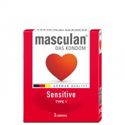 Musculan Sensitive Condoms - 3pcs