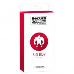 Secura Big Boy Condoms 60mm - 12pcs