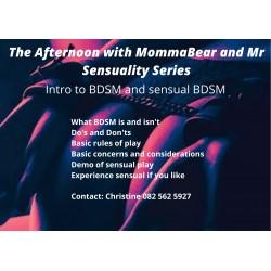 Intro to BDSM and Sensual BDSM