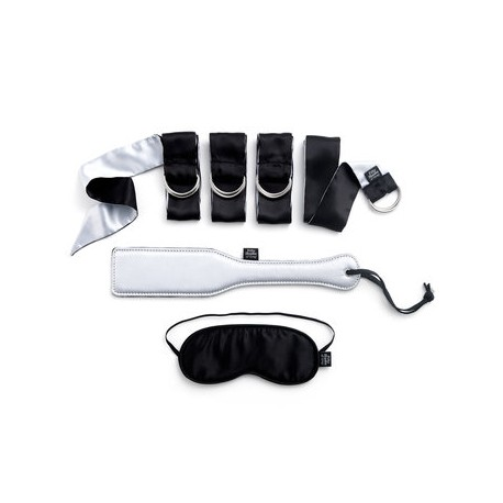Fifty Shades of Grey Submit to Me Beginners Bondage Kit (6 Piece)