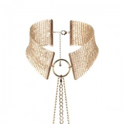 Desir Metallique - Metallic Mesh Gold Collar